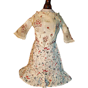 Lovely Antique Doll Skirt and Blouse, China, Papier Mache