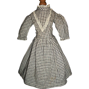 Nice Black and White Doll Dress