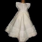 Pretty Vintage Lace Fashion Doll Petticoat