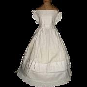 Lovely Antique French Fashion Chemise / Petticoat