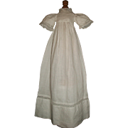 Sweet Small Antique Doll Gown