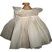 Nice Pink Organdy Shirley Temple Tagged Doll Dress