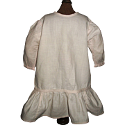 Sweet Early Pink Cotton Drop Waist Doll Dress