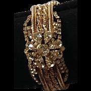 looks like Royalty!  7 inch rhinestone mesh bracelet. wow factor!