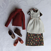 Vintage Mattel Sunshine Family Clothing and Shoes for Steffie and Steve, circa 1974