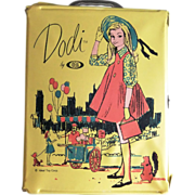 SOLD Vintage Ideal Dodi Yellow Doll Case, Tammy Doll Family, c. 1962-64