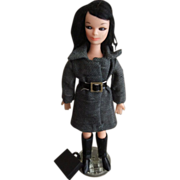 Vintage Go-Go Doll, Private Ida by Deluxe Reading, c. 1965