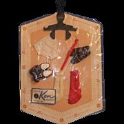 SOLD Vintage Mattel Ken Fashion Accessory Pak, MOC, c. 1962 - Red Tag Sale Item
