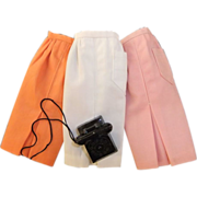 SALE Vintage Mattel Barbie Mix 'n Match Fashion Pak with 2 extra sheath skirts, 1962-63