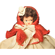 "Vintage 5"" Hollywood Doll, 1940s"