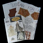 "Vintage Cut & Sew Streetwear for Any 11"" - 12"" Boy Doll Fabric Panel, c. 1960-70s;  Simpli"