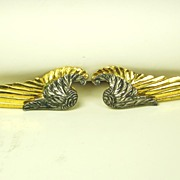 SALE McClelland Barclay World War II Inspired Wing Fur Clips
