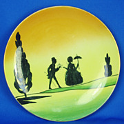 Vintage Hand Painted Plate Made in Japan