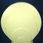 Haeger  U.S.A. Art Deco Off White Pottery Circle Vase