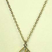 SALE Vintage 1/20 12k Gold Filled Necklace by Automade
