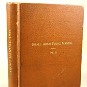 1913 War Department: Small Arms Firing Manual, Leonard Wood