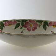 "Royal Swansea Pottery Practice Piece by Mrs. Mrs. Eichelmann ""Woodland Rose"""