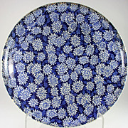 Early Waechtersbach SteinGut Keramik, Royal Blue Ceramic Platter