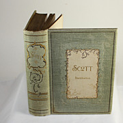 SALE PENDING The complete poetical works by Sir Walter Scott, 1894