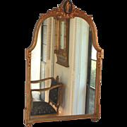 Antique Gilded Neoclassical Mirror
