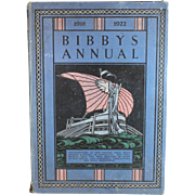 SOLD Bibby's Annual An Unconvential Journal for Country Readers 1918-1922 Illustr. A. Garth Jo