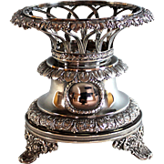 Regency Sterling Silver Centerpiece by Edward Bernard & Sons ca 1812