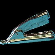 Vintage Sterling Silver Mechanical Desk Stapler 1950s