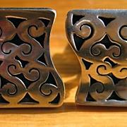 Sterling Silver Mexican Cufflinks-JGC