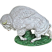 Italian Pottery White Buffalo