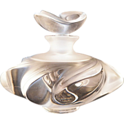 REDUCED Vintage Lalique Samoa Perfume Bottle Retired