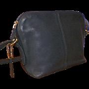 Vintage Navy Blue Coach Purse Shoulder Strap