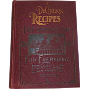 Dr. Chase's Recipes Information For Everybody Book 1902