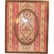 SOLD Vintage French Picture Frame With Fabric Matte