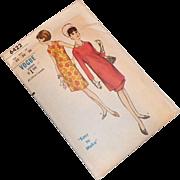 Vintage 1960's Vogue Pattern Tunic Dress Uncut