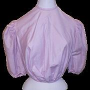 Victorian Pink Cotton Bodice