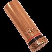 1940's 24K gold plated Tabu Lipstick