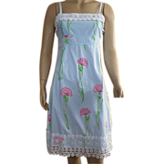 REDUCED Lilly Pulitzer Carnation Print Sun Dress Size 2
