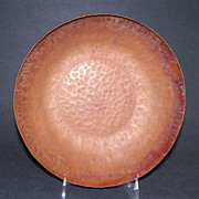 SOLD Arts And Crafts Hand Wrought Hammered Copper Bowl By W.H. Dunstan