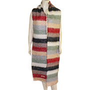 REDUCED Mohair and Wool Very Long Moschino Scarf Made In Italy