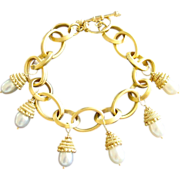 SOLD Astoria Cultured Pearl Bracelet