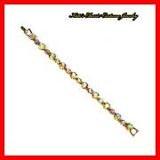 Weiss Aurora Borealis Link Bracelet