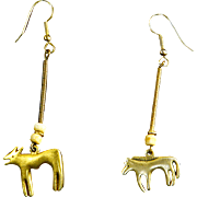 Laurel Burch Fetish Animal Earrings