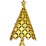 MYLU Christmas Tree Pin – Diamond Lattice – Book Piece