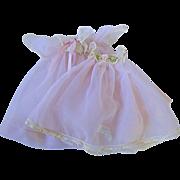 "SOLD Vintage 1955 Alexander 8"" Alexander-kin Peignoir Set ~ Pink Gown & Robe"