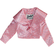 SOLD Vintage 1963 Barbie Fashion Pak ~ Pink Satin w/ Glitter Bolero Jacket ~ Mint!