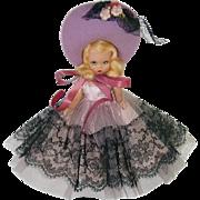 Nancy Ann Storybook Sleep Eye Plastic Doll ~ #182 WEDNESDAY ~ MIB