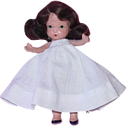 Nancy Ann Storybook Doll  Pudgy Tummy Molded Sock Needs Dress