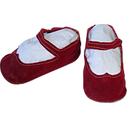 """Large American Character 31"""" SWEET SUE Original Red 4 1/4"""" Shoes"""