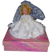 "Hard Plastic 5 1/2"" Virga Bride Doll ~ Mint in Box"