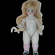 """German Antique All Bisque 4.5"""" Kestner Simon Halbig 540 Doll"""